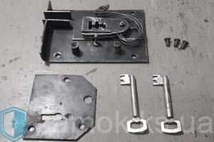 Изготовление ключей по замку на старый сейфовый замок